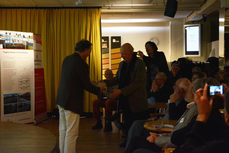 Uitreiking VIBA prijs 2015 aan Sietz Leeflang