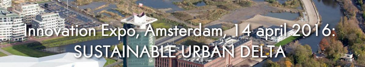 Ook VIBA-kennis op Innovation expo Sustainable Urban Delta