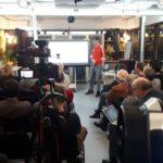 Verslag VIBA Café en nieuwjaarsborrel op 9 januari met Strobouw Nederland, Kalkhennep Nederland, Mens en Architectuur en WoonGezond Experience
